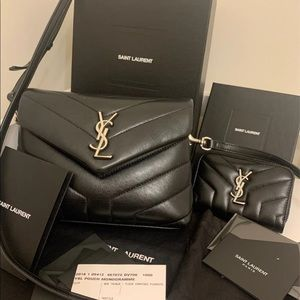 YSL Lou Lou toy bag and wallet